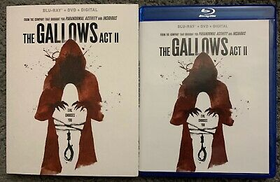The Gallows Act Ii Blu Ray Dvd 2 Disc Set + Slipcover Sleeve Free Shipping Buyit