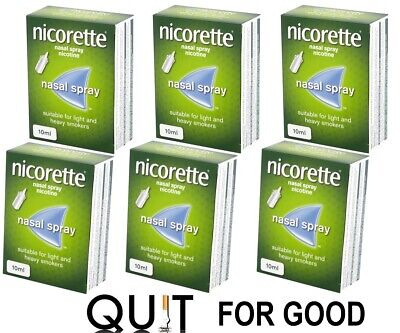 Nicorette Nasal Spray 10ml - 6 Pack Expiry January 2021
