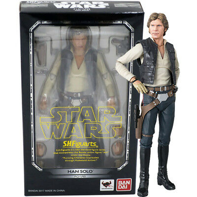 A NEW HOPE Figuarts Star Wars Han Solo about 150mm ABS /& PVC painted acti S.H