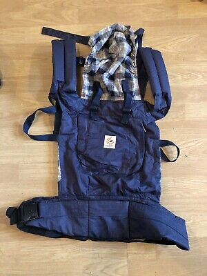 Ergobaby Organic Carrier Highland Navy
