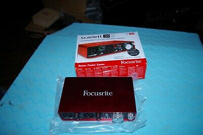 Focusrite Scarlett 2i2 Audiointerface