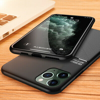 For iPhone 11 Pro Max X XR XS 8 7 6s Plus Luxury PU Leather Slim Case Cover