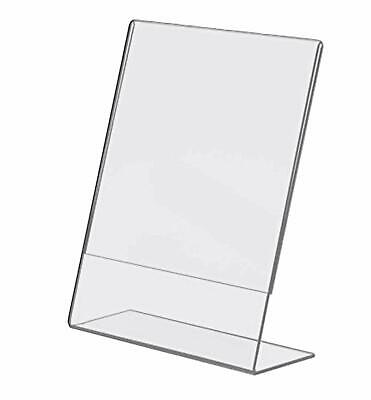 T'z Tagz Brand 8.5 X 11 Inch Clear Acrylic Plexi Sign Holders - Single Sheet ...