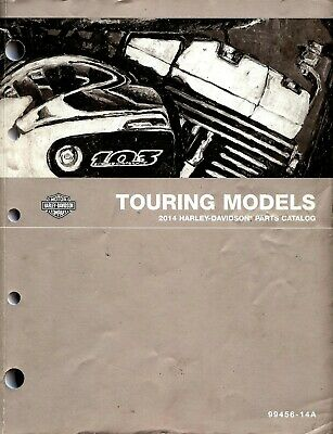 2014 Harley-Davidson Touring Models Parts Catalog Manual -Flhr-Flhx-Flhtcu-Flhtk