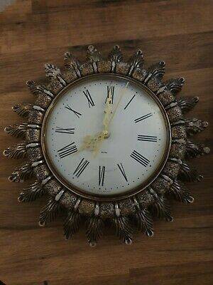 Smiths sectric electric clock vintage
