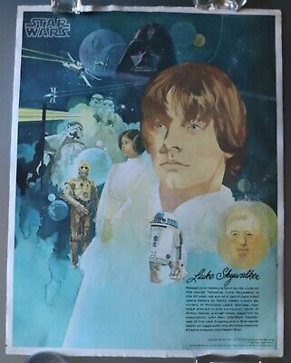 02/11    Set of 4 Original 1977 Burger King & Coca-Cola Star Wars Posters