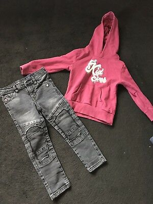 Boys Age 2-3 Years Next Jeans And V By Very Hoodie Bundle