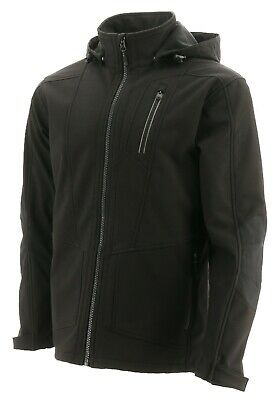 Caterpillar Mercury black water-resistant breathable soft-shell jacket