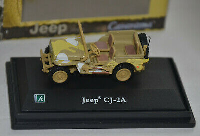 Jeep Willys Soft-Top Closed 1945 Military Green HONGWELL 1:43 HG91860 Model