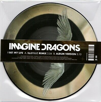 """Imagine Dragons - I Bet My Life RSD 2015 7"""" Picture Disc New/Sealed"""