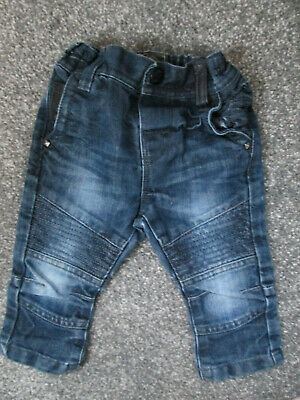 Baby Boys Denim Jeans - Age 6-9 Months - From Next