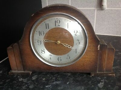 Bentima Vintage Wooden Clock