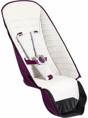 Brand New iCandy Peach 2nd Seat Fabric and Bumper Bar - Damson