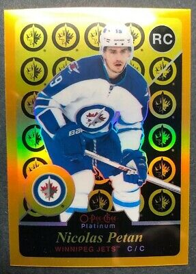2015-16 OPC Platinum Retro Gold Rainbow Rookie #R98 Nicolas Petan RC 147/149