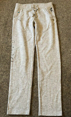 LG52 Juicy Couture Age 8 Years Grey Jogging Tracksuit Bottoms Trousers