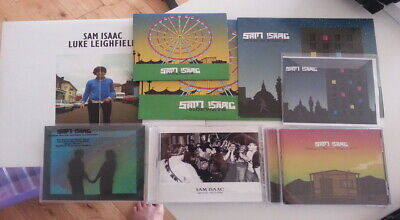 Sam Isaac CD/Record Bundle (Alcopop, Big Scary Monsters, Indie, Acoustic Emo)