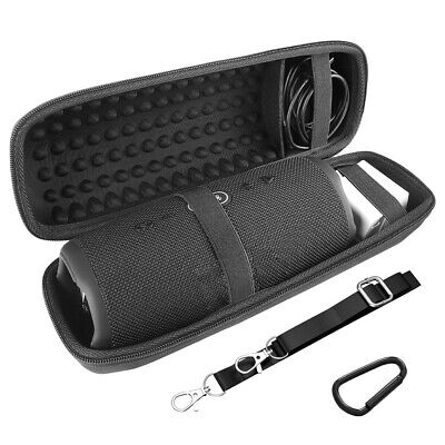 Geekria Speaker Case for JBL Charge 4, Charge4 Portable Waterproof Wireless