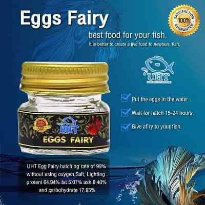 Eggs Fairy Shrimp Live Feed Betta Rachovii  Guppy Discus Tropical Fish Food