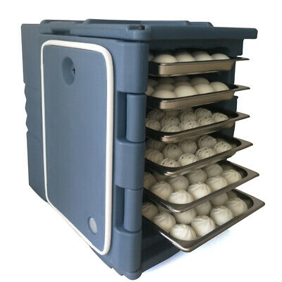 23.7Gallon Portable Insulated Food Carrier Expandable Hot Cold Pan Warmer Cooler