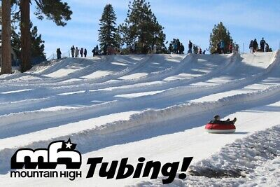 Mountain High Snow Tubing 3 Passes