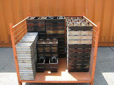 Bulk Lot of 106 Various Grants Bread Baking Pans Tins
