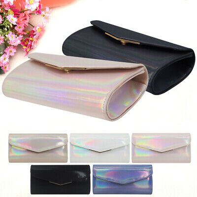 Women Faux Leather Flap Envelope Clutches Bag Purses Party Evening Bags Handbags