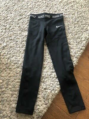 Nike Pro Girls Leggings Aged 8-10 Years New With Tags
