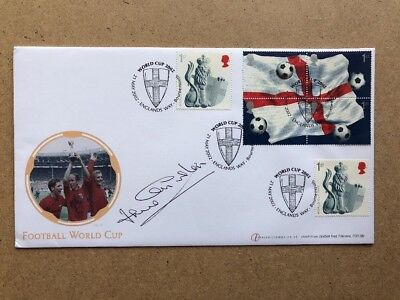 Jack Charlton Internetstamps 2002 World Cup First Day Cover AFTAL Approved COA