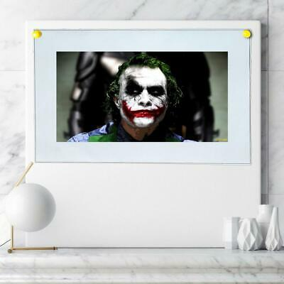 "8""x14"" DC Batman Joker Paintings HD Prints on Canvas Home decor Room Wall art"