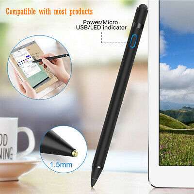 Universal Capacitive Touch Screen Stylus Drawing Pen For iPad Tablet Phone