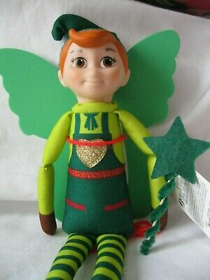 Elf Props Washing Line Note Clothes On The Shelf Accessories Christmas Prank