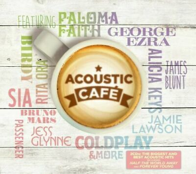 Acoustic Cafe - Various Artists [Coldplay/Bob Dylan/Paloma Faith] New/Sealed CD