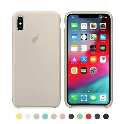 Funda Original Ultra Suave para iPhone 11 X XR XS Max 7 8 6S Plus Pro Silicona