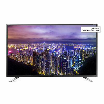 "Sharp 40"" Inch Widescreen HD 1080p LED TV with Freeview HD and USB PVR Record"