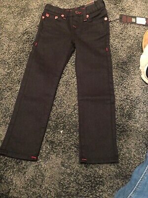Black Kids True Religion Jeans Manchester United Age 5