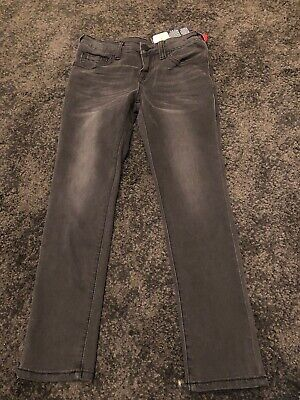 Kids True Religion Dark Grey Jeans Age 8 BNWT