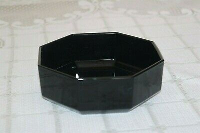 """Arcoroc OCTIME BLACK France Octagon 5 5/8"""" Cereal Bowls (3)"""