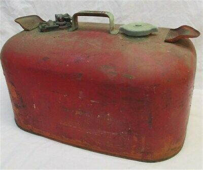 OMC Gasoline Gas Fuel Tank Outboard Boat Motor Johnson Evinrude Can Vintage t