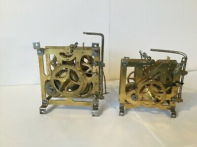 Cuckoo Clock Movements (2) - Brass - 30 hour/1day - Vintage made in Germany