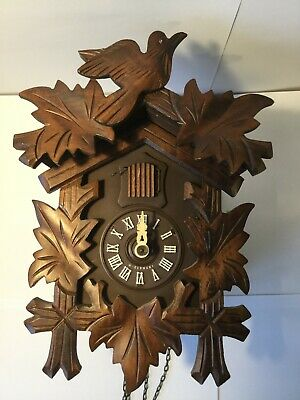 Cuckoo Clock - 30 Hour Regula Movement - Made in West Germany