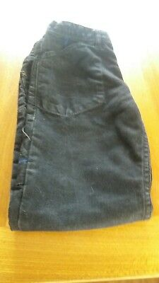 Boys  Black Jeans Age 9 Years, excellent condition