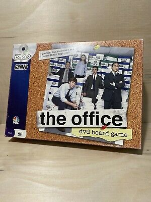 The Office DVD Board Game Pressman 2008 Complete Good Condition Trivia Party