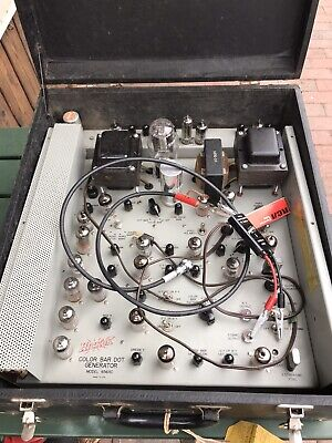 Hickok Tube Tester 656XC  Great Condition. Color Bar Dot Generator