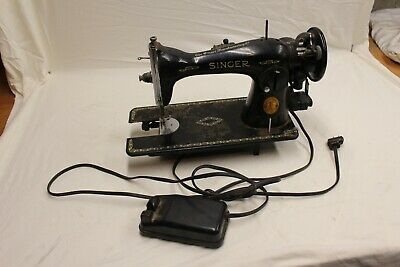 Vintage Singer Sewing Machine 1949 Serial #AJ284455       2R5