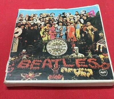 Rare Beatles Sgt Peppers Lonely Hearts Club Band Reel To Reel EAXA-5087 Japanese