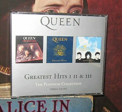 Queen - Greatest Hits I II & III The Platinum Collection CD