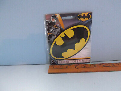 """Collectible Kitchen Magnet 5""""in Rubbery BATMAN LOGO"""