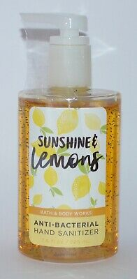 1 Bath&Body Works Sunshine & Limones Antibacterias Mano Desinfectante Gel 225ml