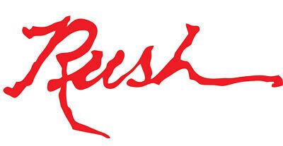 2 RUSH sticker decal (qty 2) rock canada classic and roll punk peart lee lifeson