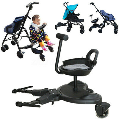 Universal Baby Sit Ride On Tandem Seat Board Attachment for Stroller Up to 25kg